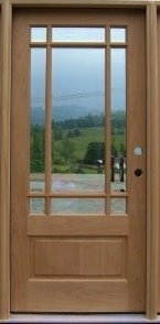 Pin by lyndy scott on outdoor projects pinterest for 9 lite wood exterior door