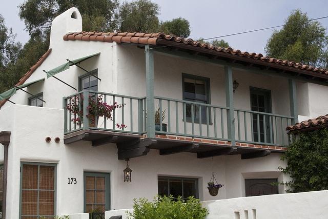 Spanish revival balcony inspiration pinterest for Balcony in spanish