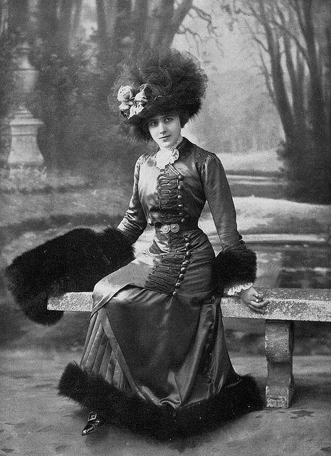 Les Modes (Paris) 1910 robe d'apres-midi par Paquin
