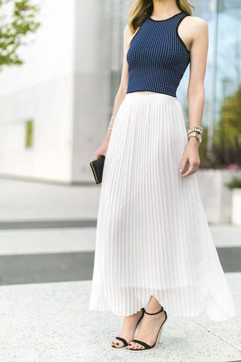 Rules Of Etiquette White Springy Accordion Pleats and scalloped hemline Maxi Skirt  #Rules Of Etiquette #White #Springy #Accordion #Pleats #Scalloped #Hemline #Maxi #Skirt #Silky #Woven #Styled #Fashion's Blogger #Skirts #Vanilla Extract