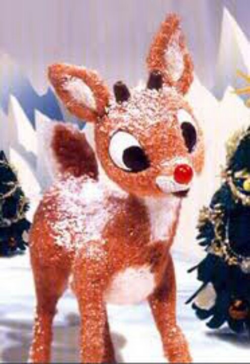Rudolph the Red-Nosed Reindeer is a fictional reindeer with a glowing ...
