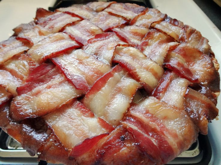Bacon Apple Pie! | sweet cheats | Pinterest