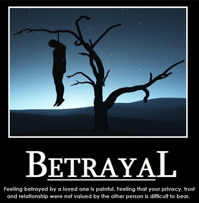 Quotes About Feeling Betrayed Quotesgram