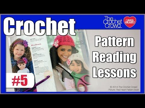 Crocheting Lessons : Read Crochet Patterns: Lesson 5 Crochet Techniques Pinterest