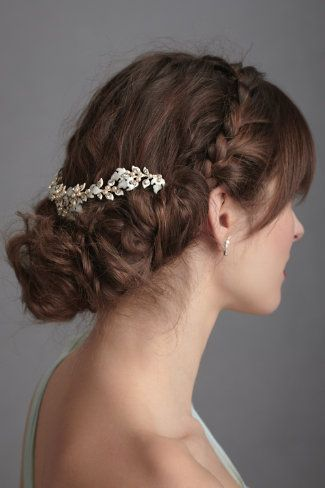 10 Hot Wedding Trends For 2013--#3 Braids (Melting Riverbanks Comb) (www.3d-memoirs.com) #braids #wedding_hairstyles