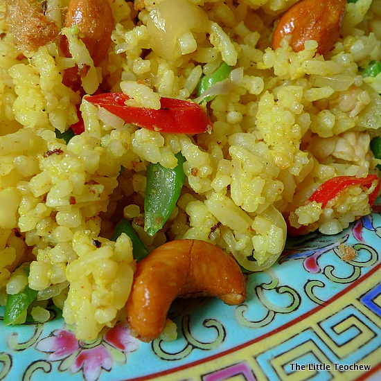 Pineapple Fried Rice with cashew nuts | Foodie Goodies | Pinterest