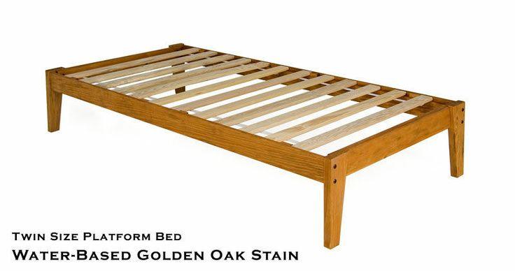 Best 14 Wood Platform Bed Frame With Headboard Plans Free