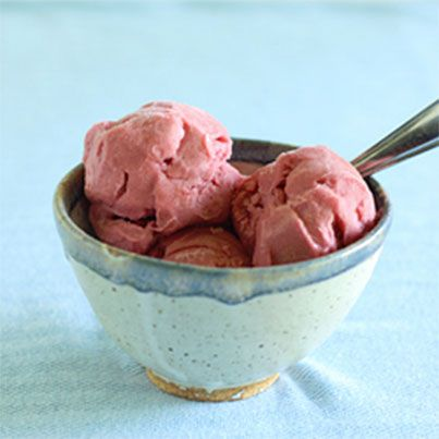 Rhubarb Sorbet | Ice Cream and on a Stick | Pinterest