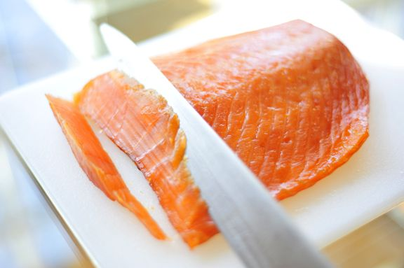 Citrus Cured Smoked Salmon | FOOD I want to Eat! | Pinterest