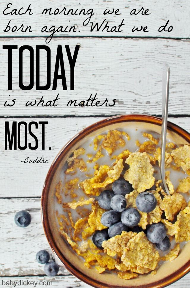 TODAY is what matters most! (motivational quotes)