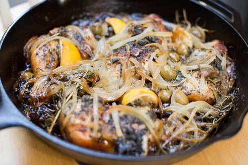 Skillet Chicken Marbella | Recipe