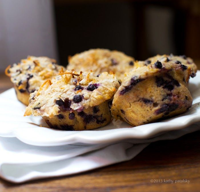 Double Coconut Blueberry Muffins. My Bed & Breakfast-Style Recipe ...