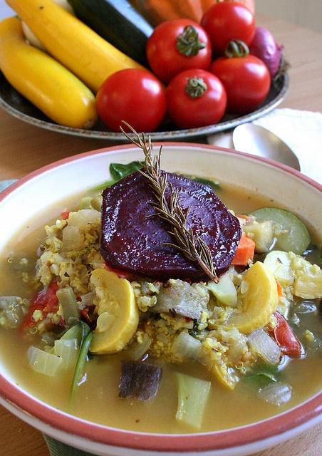 millet-quinoa vegetable soup | Whole Grains | Pinterest