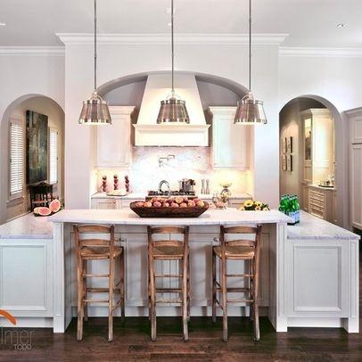 Multi Level Kitchen Island Design Mingle Ideas Pinterest