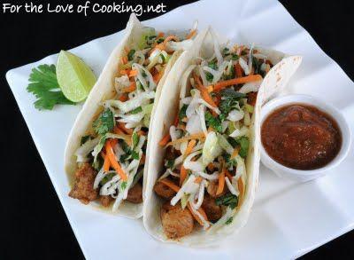 Pork Tenderloin Tacos with tangy slaw | FOOD FOOD FOOD FOOD : ) | Pin ...