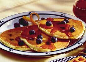 Easy Blueberry Pancakes | Recipe