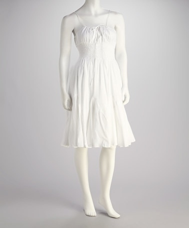 White Maternity Dress on Take A Look At This White Dress By Indian Tropical Fashions On  Zulily