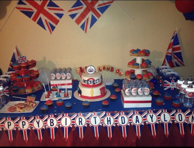 Decorating Ideas > London Themed Party  Londyns First Birthday  Pinterest ~ 195014_Birthday Party Ideas London