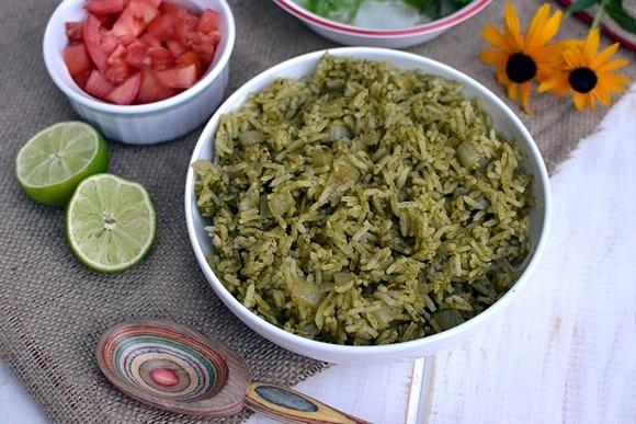 Mexican Green Rice | Veg Eats | Pinterest