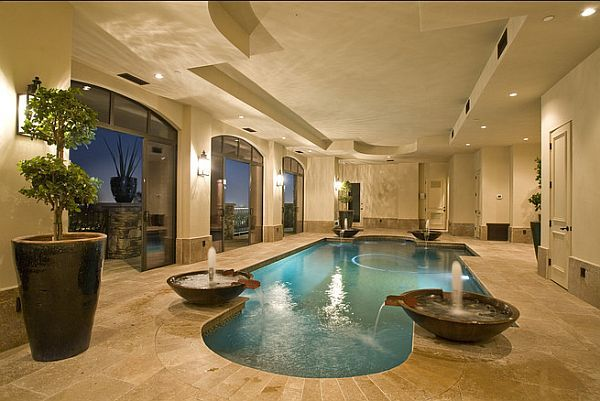 Tuscan Style House With Indoor Pool3
