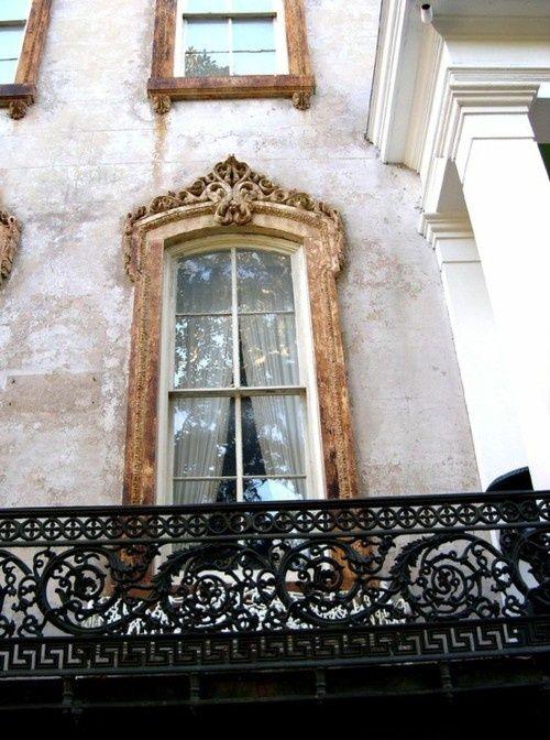 Window jamb detail