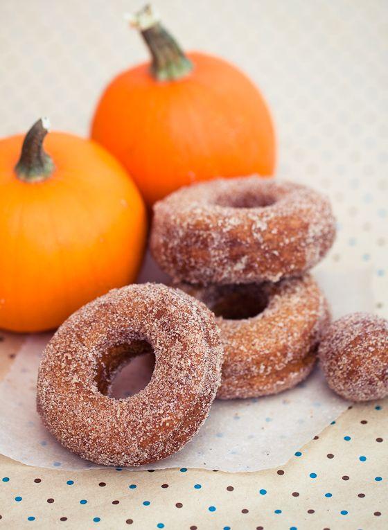 Pumpkin Spice Donuts | Donas | Pinterest