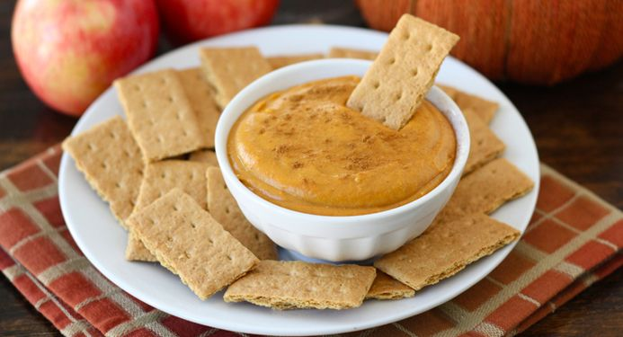 Pumpkin Dip Recipe, and we ate it with the new special edition Pumpkin ...