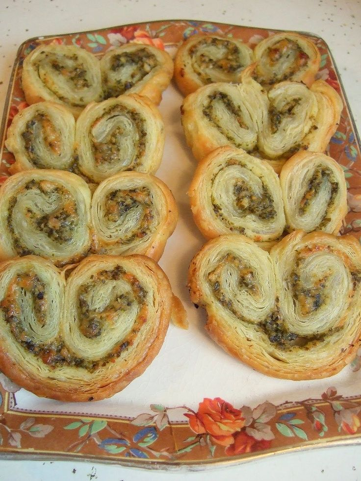 Palmiers! Oh So French, and Perfect for Valentine's Day!