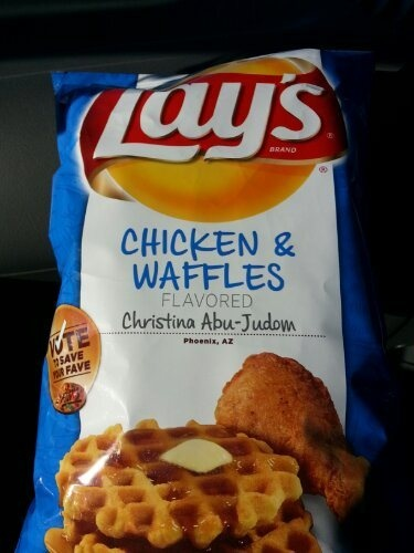 Chicken & Waffles chips | The Learning Bite | Pinterest