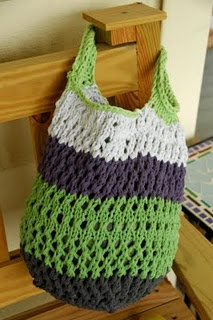 Crocheted Linen Grocery Tote   The Purl Bee