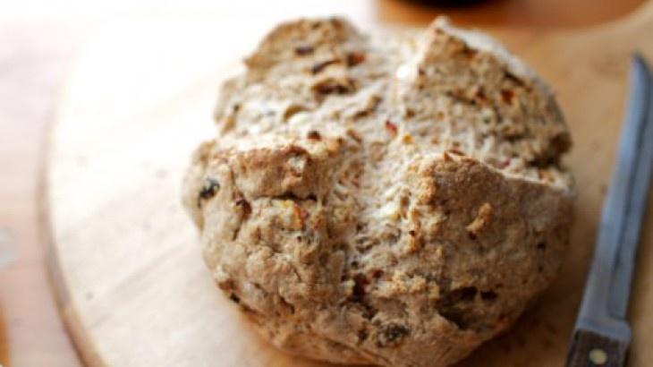 Feta and Sun-Dried Tomato Soda Bread | Breads | Pinterest