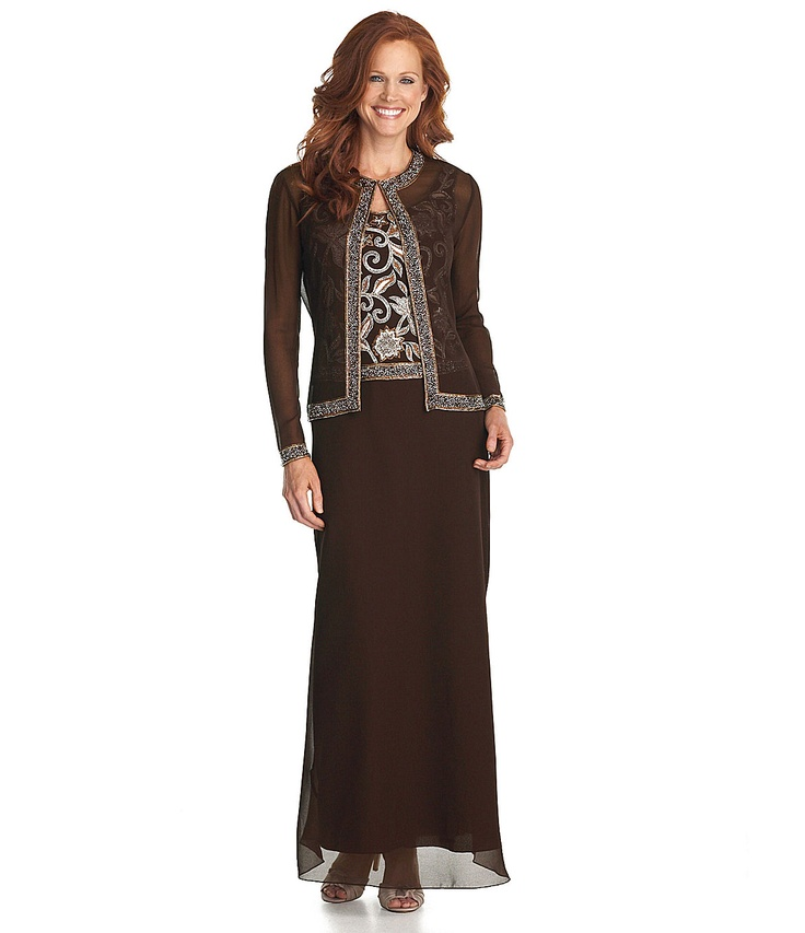 Dillards mother of the bride dresses with jackets for Dillards wedding dresses mother of the bride