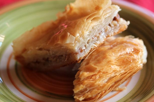 Easy baklava. | Sweet Recipes | Pinterest