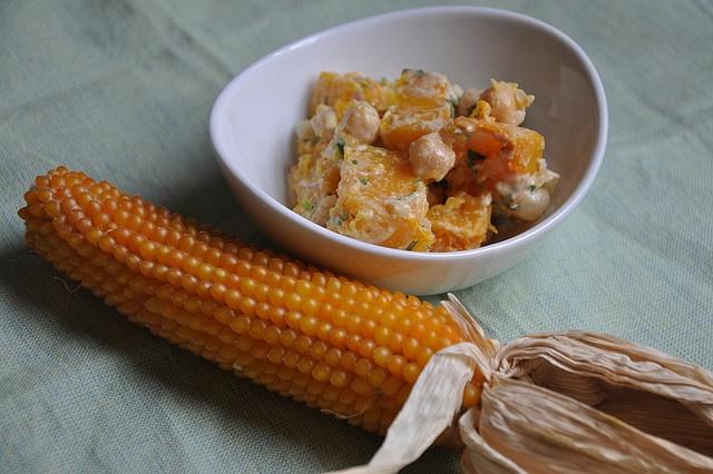 warm butternut squash, chickpea and tahini salad (turntablekitchen ...