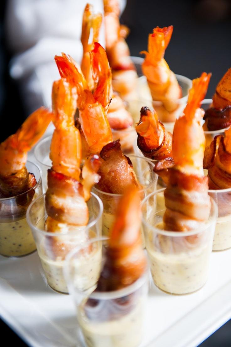 """Cute Shrimp """"cocktail"""" idea!   cooking   Pinterest"""