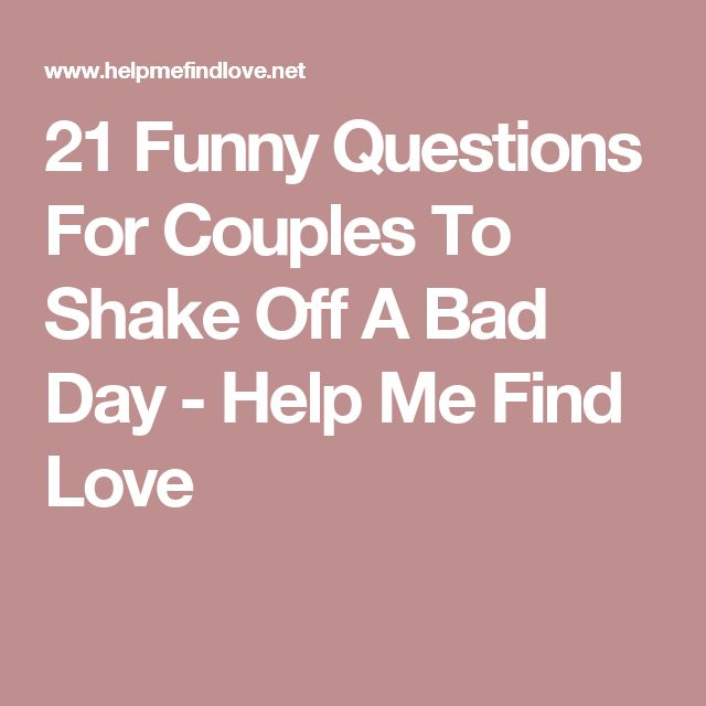 Best speed dating questions funny
