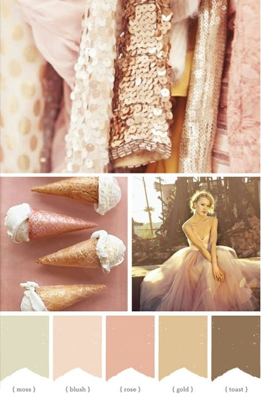Dusty rose wedding wedding planner me one day Colors that go with rose pink