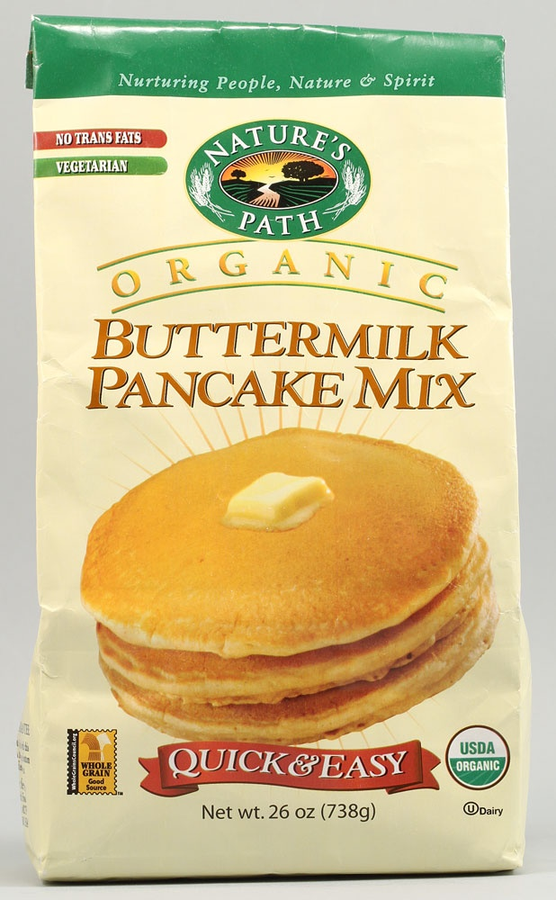 Nature's Path Organic Buttermilk Pancake Mix Description Nurturing ...
