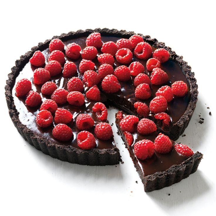 Chocolate-Raspberry Tart | Recipe