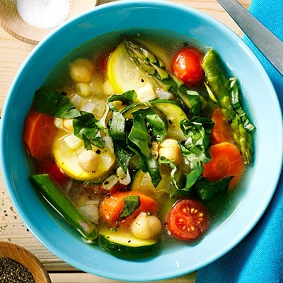 Quick Chickpea and Summer Vegetable Stew   Healthy Eating: Food i wou ...