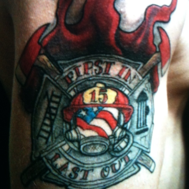 Fire fighter ink