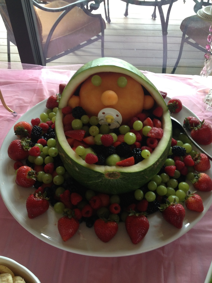 baby shower fruit basket baby shower ideas pinterest