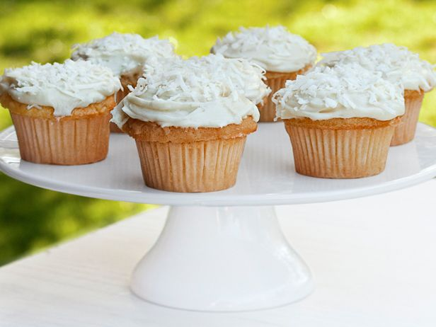 ... Coconut Cupcakes With Cream Cheese Icing recipe from Ina Garten