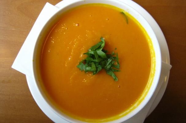 Thai Spiced Carrot Soup