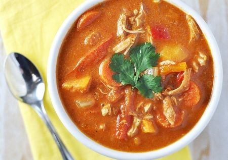 African Peanut Soup | Cooking | Pinterest