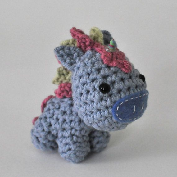 Crochet Unicorn : Crocheted Unicorn Pattern PDF by NeedleNoodles on Etsy $4