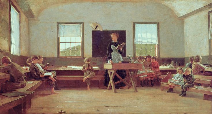 the-country-school-winslow-homer.jpg (900×485)