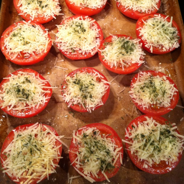 Baked Parmesan tomatoes? Yes please! | Healthy Lifestyle/ Recipes ...