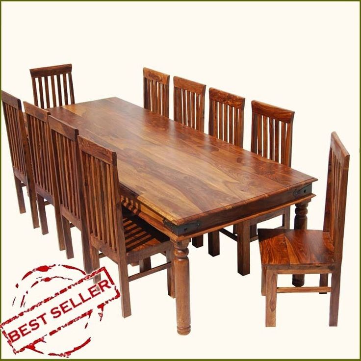 rustic 10 seat dining room table chair set large lincoln