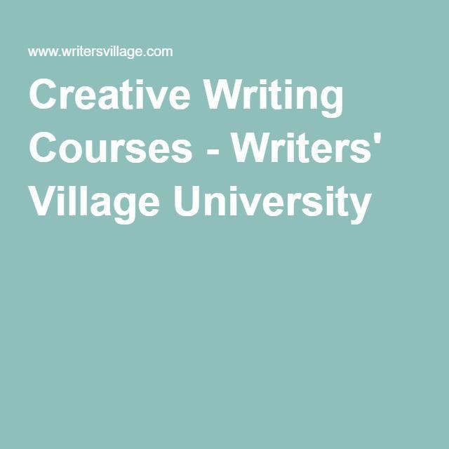 creative writing schools online